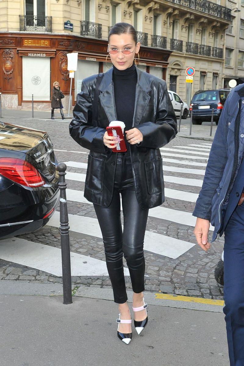 BELLA HADID_LAMARQUE_ESME LEATHER PANT_JANUARY 24, 2018_PARIS, FRANCE_BACKGRID(2)